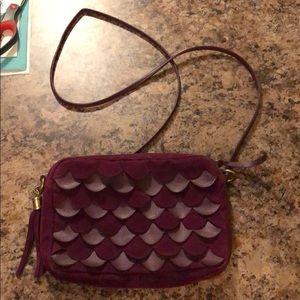F21 Purple Crossbody Bag